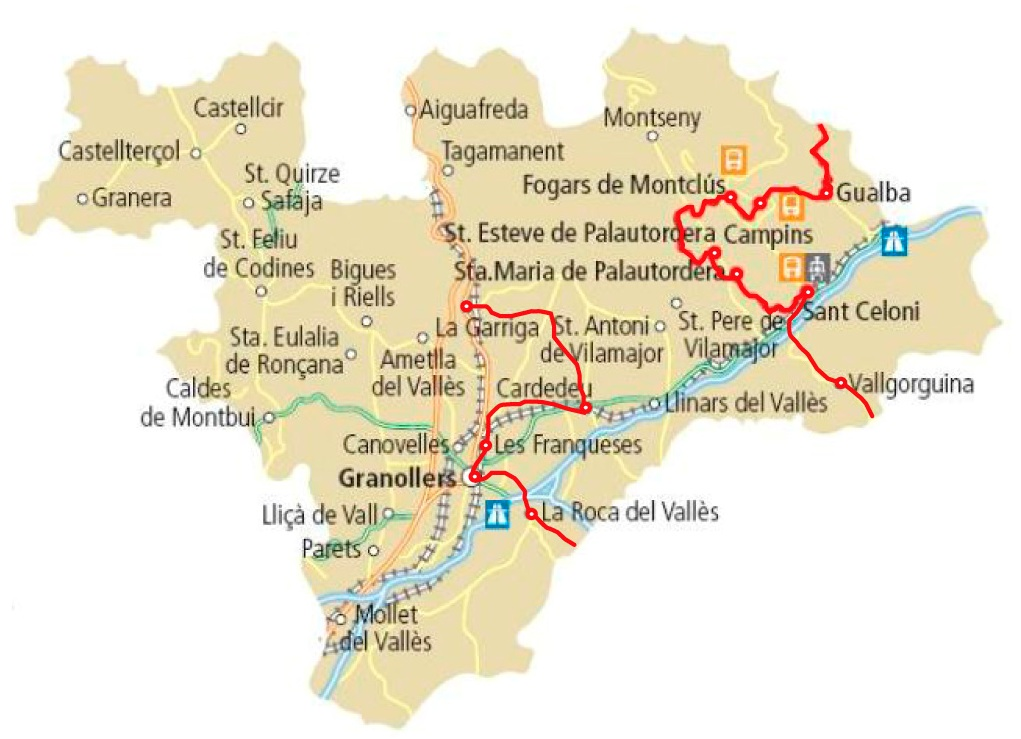 Comarca vall s oriental al elcam cat for Pisos en montornes del valles