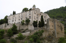 Convent i castell d'Agres