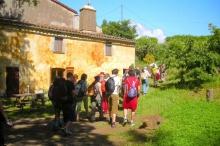 Masia entre Sant Celoni i Palau