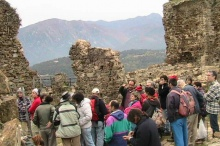 Visita al Castell de Montsoriu