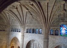 Interior de l'església de Xàbia